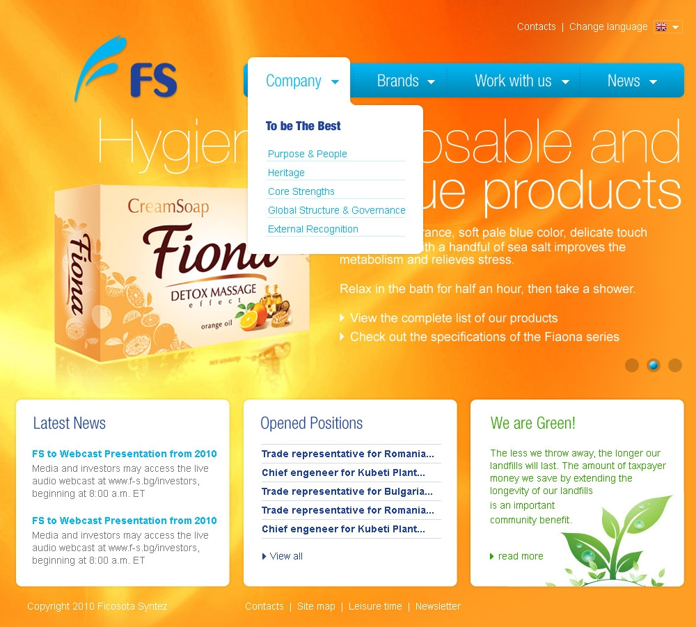 Ficosota Syntez